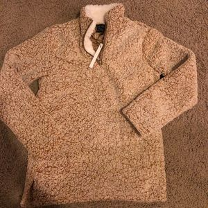 Sherpa half zip ..Brand New with tags! Size Small